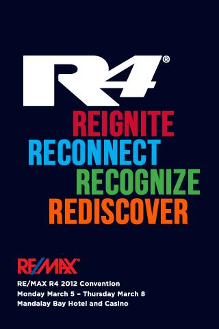 RE MAX R4 2012 Convention