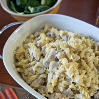 Creamy Parmesan Chicken Casserole AKA Amish Chicken