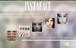 Screenshot of InstaFace