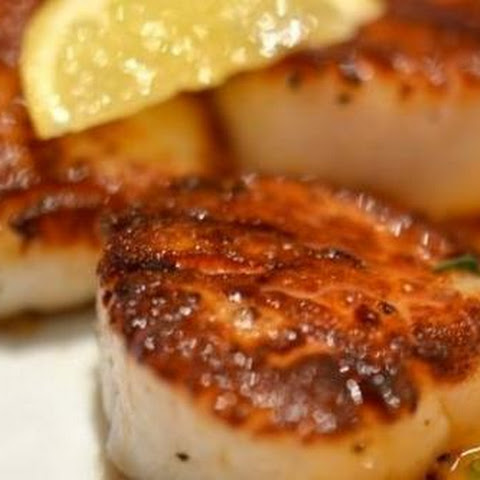 Fool Proof Seared Sea Scallops