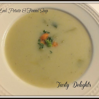 Velvety Leek, Fennel & Potato Soup
