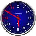 Color Tachometer Clock Set icon