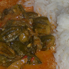 Vegetarian Okra Curry