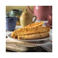 Crystallized Ginger Biscotti