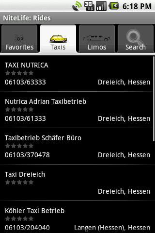 【免費生活App】NiteLife: Rides-APP點子