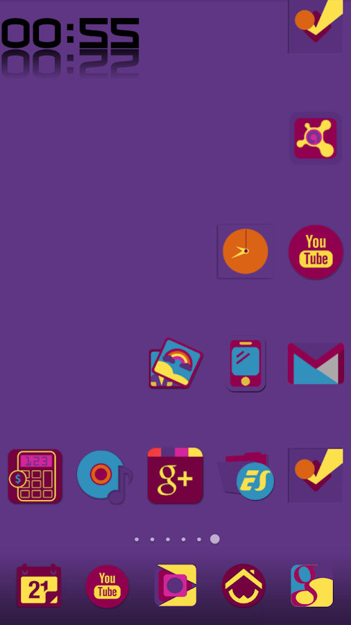 ICOBAR  ICONPACK Screenshot 6