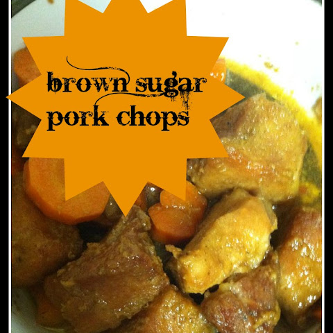Brown Sugar Pork Chops