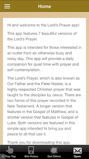 The Lord's Prayer & Blessings - screenshot