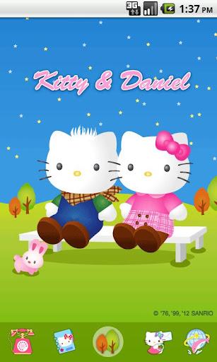 Hello Kitty Outdoor Theme