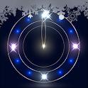 雪夜時計 ライブ壁紙トライアル icon