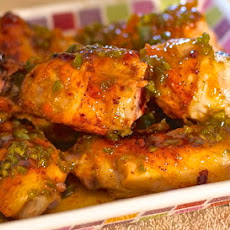Sweet and Spicy Wings