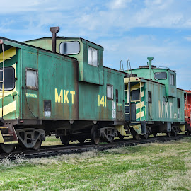 Denison Trains by Jessica Price - Transportation Trains ( denison tx, texas, texoma, trains, denison )