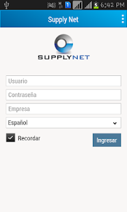 SupplyNet - screenshot