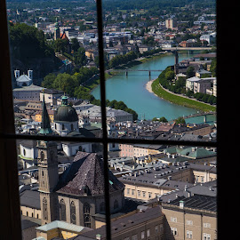 Window to Salzburg by Dale Mellor - Buildings & Architecture Architectural Detail (  )