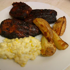 Wicklewood's Gluten Free Sweet Sticky Barbecue Ribs