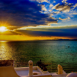 ZEN in UPPERCASE of Hammamet by Ahmed Ammar - Landscapes Travel ( hammamet, trvael, sunset, tunisia )