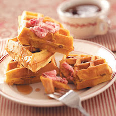 Toasty Pumpkin Waffles