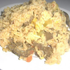Moui Nagden(Rice in Beef Stew)