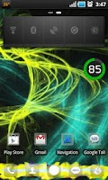 Screenshot of Galaxy X1 Theme