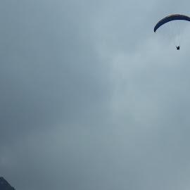 Flying high! by Akshit Arora - Sports & Fitness Other Sports ( adventure, paragliding, himalaya, sports, manali )