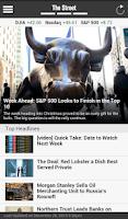 Screenshot of TheStreet: Financial News