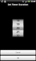 Screenshot of visTimer