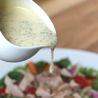 Honey Mustard Poppyseed Salad Dressing