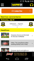 Screenshot of talkSPORT