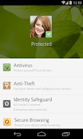 Screenshot of Avira Antivirus Security