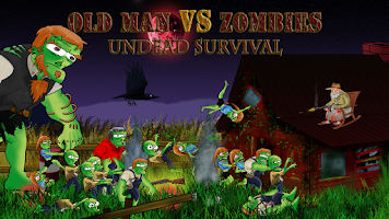 Screenshot of Oldman Vs Zombie survival Lite