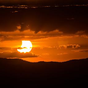 Solar Eclipse by Ty Hanson - Landscapes Sunsets & Sunrises ( finchzero photography, sunset, australia, brisbane, solar, sun, eclipse )