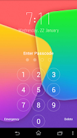 Screenshot of Keypad Lock