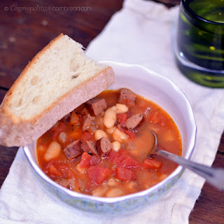 Kielbasa and White Bean Soup