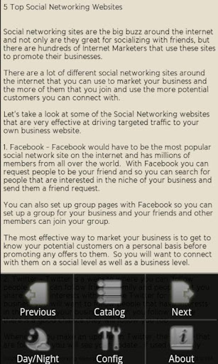 【免費書籍App】Internet Marketing Ezine-APP點子