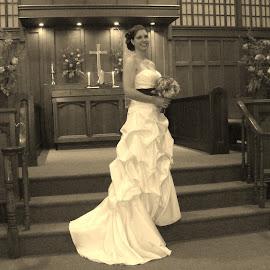 The Bride by Amy Hepler - Wedding Bride