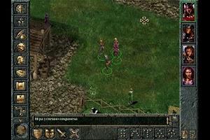 Screenshot of GemRB