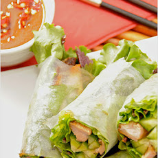 Vietnamese Grilled Pork Spring Rolls (Goi Cuon Thit Heo Nuong)