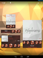 Screenshot of Poweramp Widgets Kit