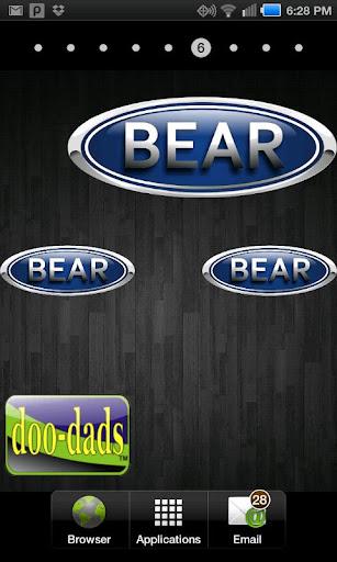 Bear doo-dad
