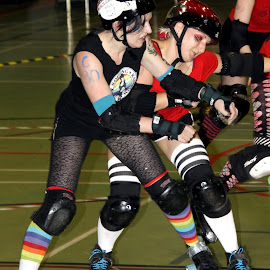 Thump by Neil Pho - Sports & Fitness Other Sports ( violence, sports, roller derby, contact, women )