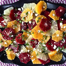 Winter Citrus Salad With Black Pepper, Feta, and Mint
