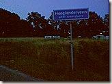 Plaatsnaambord Hooglanderveen