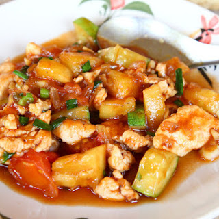 Sweet And Sour Chicken Or Tofu