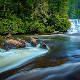 Waterfalls by Naresh Balaguru - Landscapes Waterscapes ( waterfall )