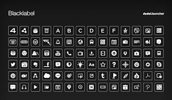 Screenshot of Black Label Dodol Theme