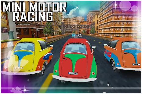 Mini Motor Racer- screenshot thumbnail