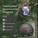 Map Speed-O Compass (Paid) icon