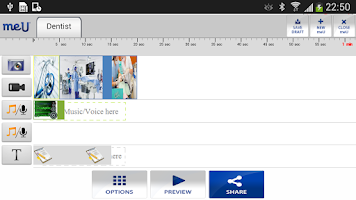Screenshot of meU Health Video Messaging
