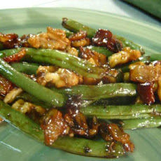 Bacon-Walnut Green Beans