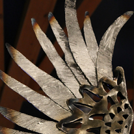 Wings of an Eagle by Leah Zisserson - Artistic Objects Other Objects ( sculpture, metal, art, handmade, museum )